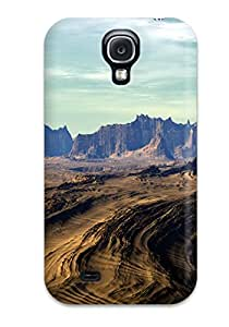 Durable Defender Case For Galaxy S4 Tpu Cover(k Landscape )