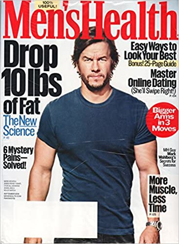 a502a51afec Men s Health magazine september 2016   mark Wahlberg  Single Issue Magazine  – 2016