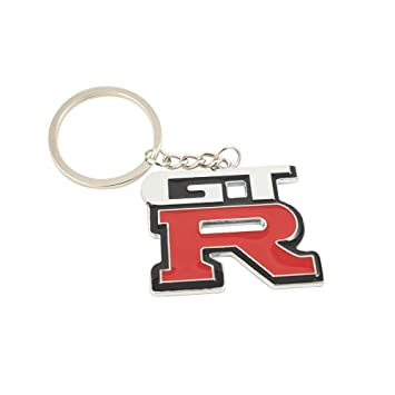 Amazon.com: Nissan GTR Logo Car Keychain: Office Products