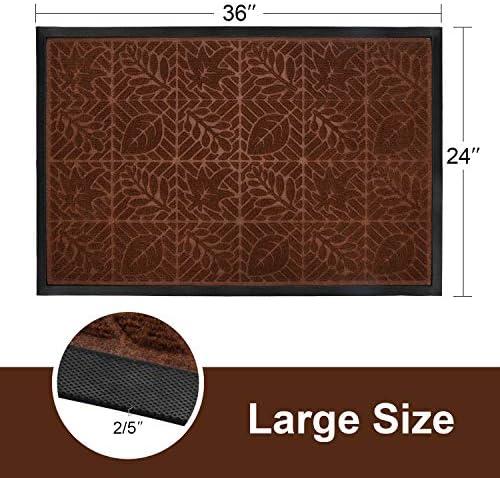 24 x 36 Beige Durable DuraLoop Indoor//Outdoor Entrance Mat