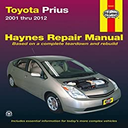toyota prius automotive repair manual 2001 12 haynes automotive rh amazon co uk Clymer Manuals Clymer Manuals