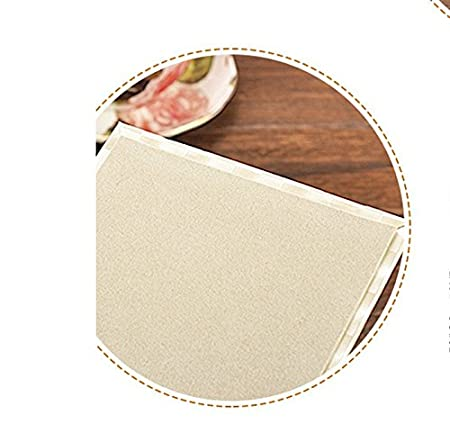 JUNGEN Leather Tissue Box Covers Decoration for Home and Office 14*13.5*13.5cm White