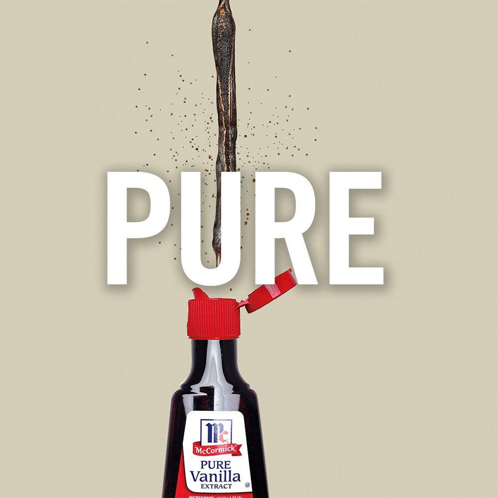 McCormick MJC All Natural Pure Vanilla Extract, Gluten-Free Vanilla, 4 Pack of 16 Oz by McCormick (Image #4)