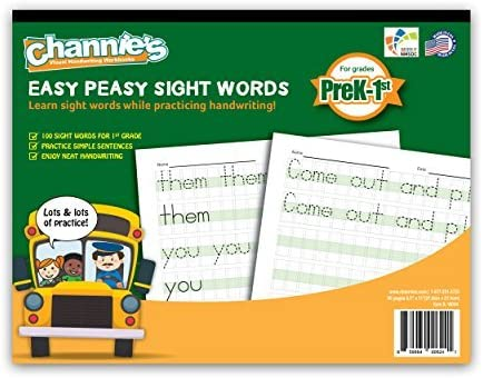 Channie's Easy Peasy 100 Sight Words Wor