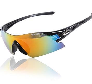 GZD moda Frameless montar gafas deportes espejos puede cambiar bolas gafas gafas de sol polarizadas pesca