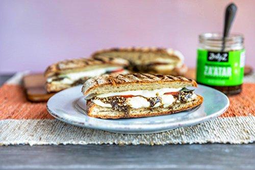 Zesty Z 2-Pack Mediterranean Za'atar (Zaatar/Zatar) Spread & Condiment, 7.5 oz (Pack of 2) by Zesty Z (Image #4)