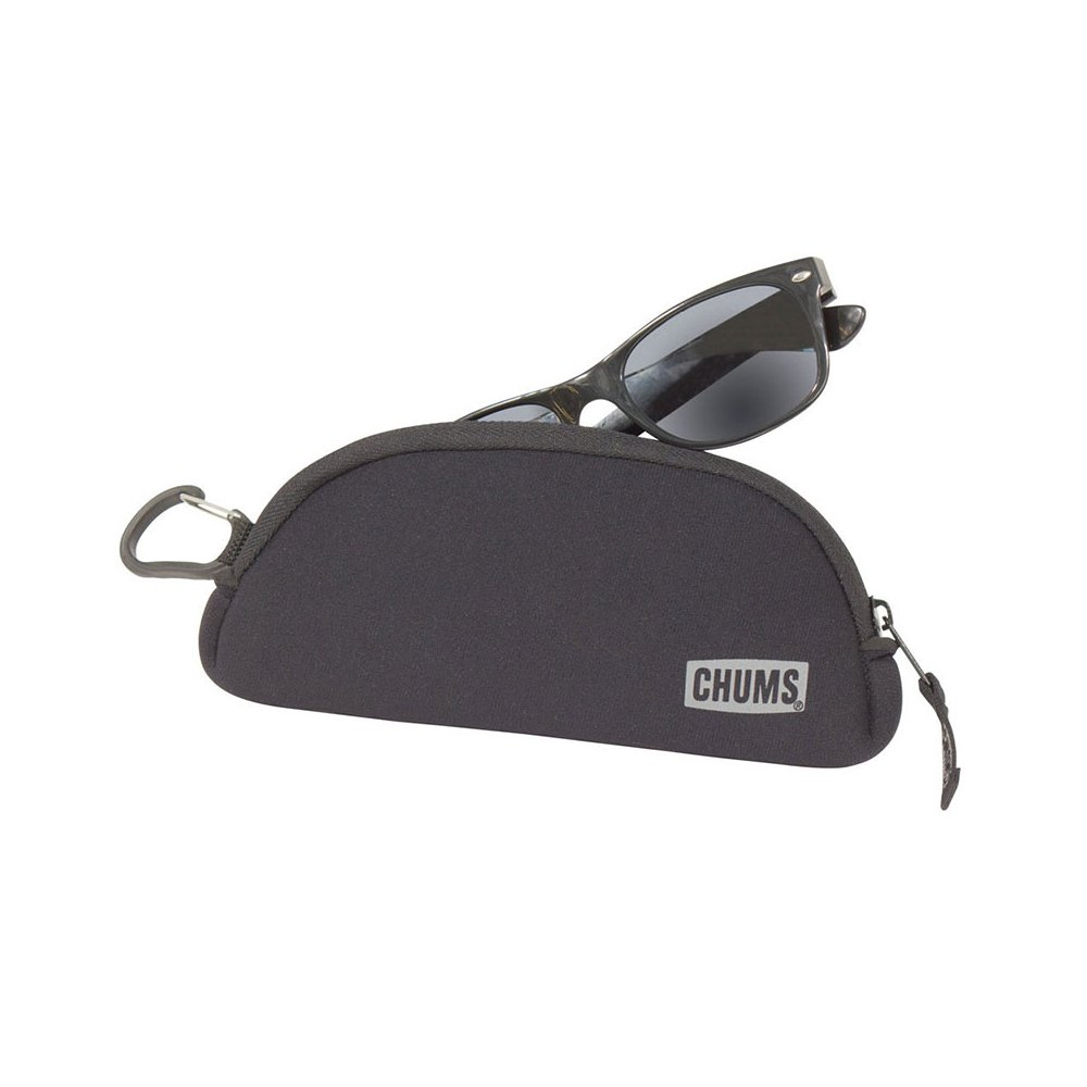Chums Shade Shelter Sunglass Case in Black