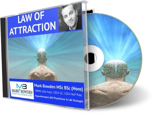 The Law of Attraction Hypnosis CD - Helps you live consistently with the universal law that was brought to life by the film The Secret, law of cause effect and positivity