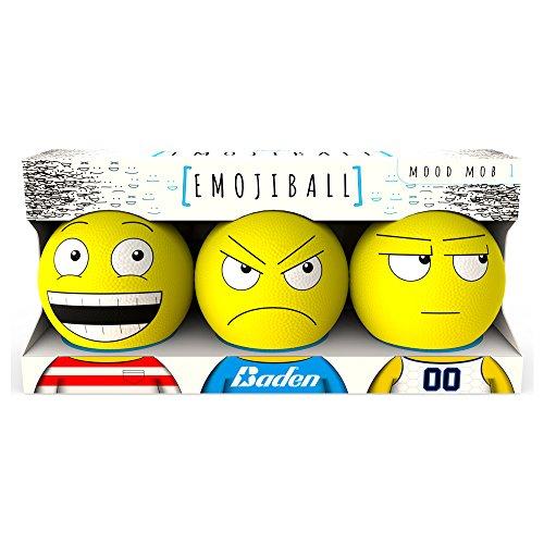 Baden Mood Mob 1 Emoji Ball , Yellow