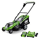 Best Partner 40V Max Lithium Cordless Lawn Mower,16-Inch,4.0AH Battery and Charger Include Review
