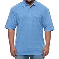 Foxfire Big and Tall Banded Bottom Polo Dash Short Sleeve Shirt for Men