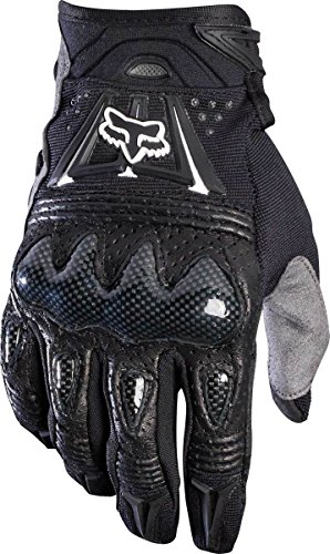 Mens Pittards Carbon - Fox Men's Bomber Gloves, Black, 4X(14)