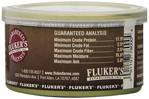 Image of Fluker's Gourmet Canned Crickets 1.2oz (3 Pack)