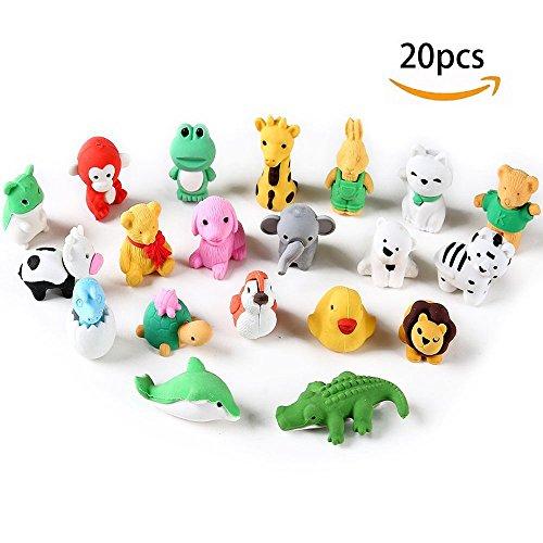3D Animal Erasers