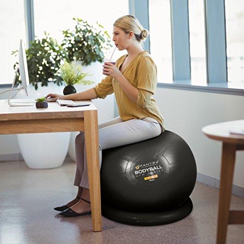 Exercise Ball Chair 65cm Amp 75cm Yoga Fitness Pilates