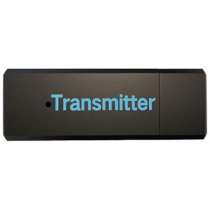 NoyoKere Receptor transmisor Bluetooth 4.1, Receptor de Adaptador estéreo inalámbrico de música de Audio de