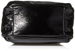 LeSportsac Signature Mini Drawstring Shoulder Bag, Signature Black Crinkle, One Size