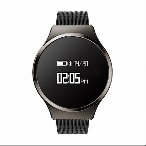 SaWaDiKa Fitness de Pulsera Smartwatch con pulsómetro de Pulsera ...