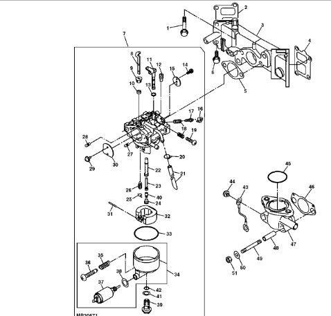 Plow John Deere Gator 4x2