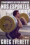 capa de Levantamento de Peso Olímpico nos Esportes