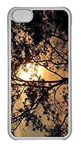 iPhone 5C Case, Personalized Custom Sunrise At Mount Lembing Malaysia for iPhone 5C PC Clear Case
