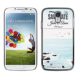 Dragon Case - FOR Samsung Galaxy S4 - Where we love is home - Caja protectora de pl??stico duro de la cubierta Dise?¡Ào Slim Fit