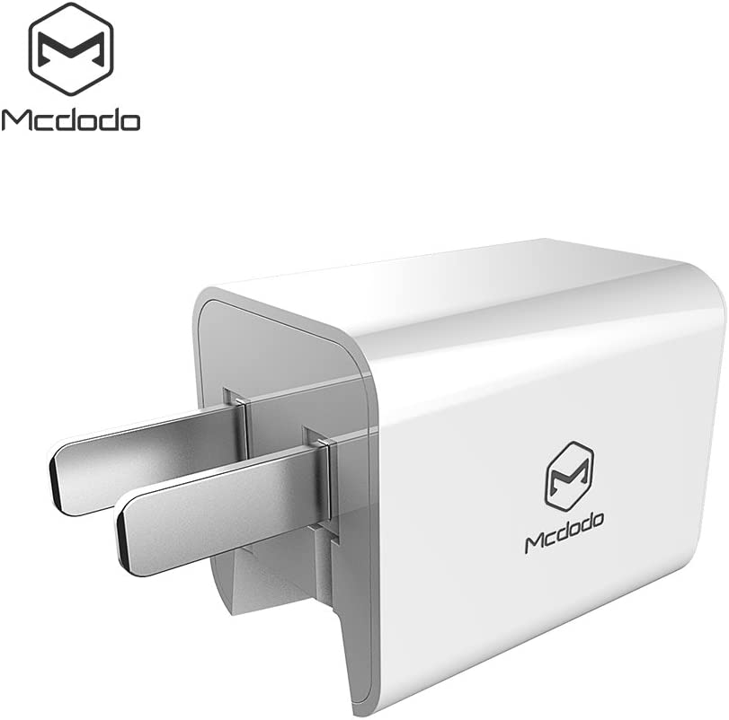 HTC Nexus Moto Powerbank Wall Charger Black Bluetooth Speaker Mcdodo Mini USB Wall Charger ULTRA COMPACT Dual Port 2.4A Output /& Foldable adapter Plug Compatible iPhone iPad Samsung Galaxy
