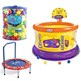 Inflatable Slam Dunk Big Ball Pit Little Tikes - Best Reviews Guide
