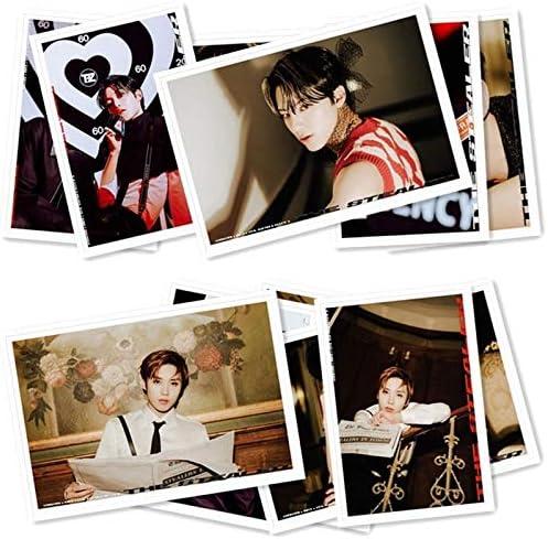 40 pi/èces KPOP THE BOYZ Album CHASE Photocard carte Photo carte autocollants carte postale papeterie d/écoration fournitures fan cadeaux