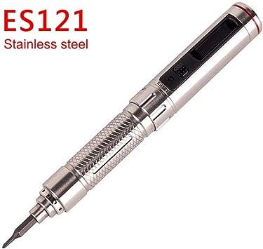 ES121 Kit de destornillador/mini destornillador inalámbrico de ...