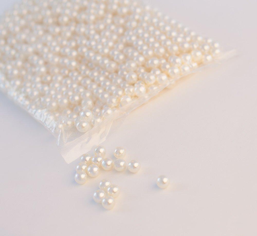 d/écoratifs Perles 10/mm/ /1000/pcs Blanc//Ivoire D/écor Arts et Loisirs cr/éatifs Perles