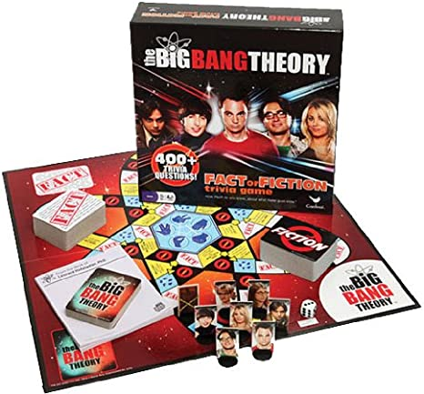 The Big Bang Theory Fact or Fiction Trivia Game: Amazon.es: Juguetes y juegos
