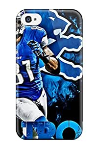 Iphone 4/4s Hard Back With Bumper Silicone Gel Tpu Case Cover Calvin Johnson