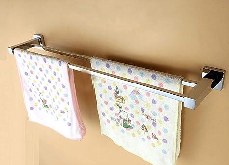 Accessori Bagno Fai Da Te : Asciugamano rack anello gancio accessori bagno rame doppio telo da
