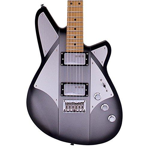 Corgan Signature Electric Guitar Satin Silver Burst (Korina Wood Guitar)