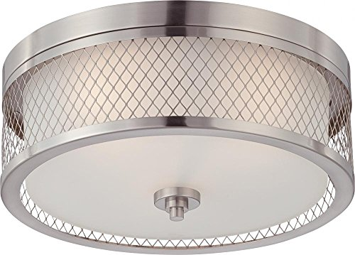 Nuvo Lighting 60/4691 Three Light Flush (Fusion Ceiling Light)