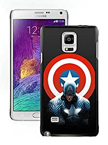 Beautiful Designed Cover Case With Captain America 18 Samsung Galaxy Note 4 N910A N910T N910P N910V N910R4 Black Phone Case