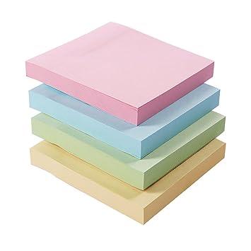 Zhi Jin 8 unidades de grosor notas adhesivas almohadillas adhesivas nota página marcador Memo para oficina