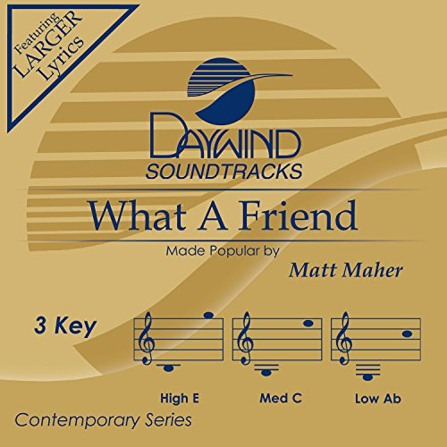 What A Friend [Accompaniment/Performance Track]