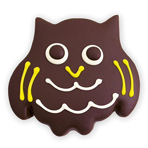 Decorated Sugar Cookies - Halloween and Fall Owl Cookies- by Merlino Baking (Pack of (Soft Sugar Cookies For Halloween)