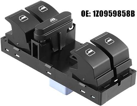 Electric Power Window Switch 1Z0959858 NEW For Octavia II 2 1Z Fabia 5J