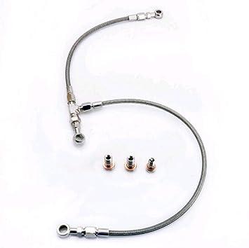 Kinugawa AVCS Turbo aceite alimentación línea para 08 ~ libertad legado VF40 VF46 VF52 Subaru