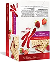 Kellogg's Special K Fruit Crisps, Strawberry Flavour Caddy, 24 bars, 2 bars per pouch