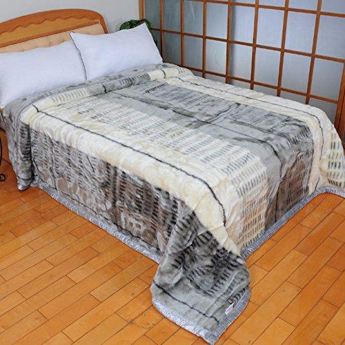 BDUK Raschel Decke [ ] Sembilan Acryl Luxus Doppelzimmer