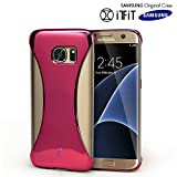 Galaxy S6 Edge+ Case, Original Samsung [SexyBack] Slim [Form Fitting] Back Cover [Precision Fit] [Extra Wide Earphone Jack] Case for Samsung Galaxy S6 Edge Plus - Pink