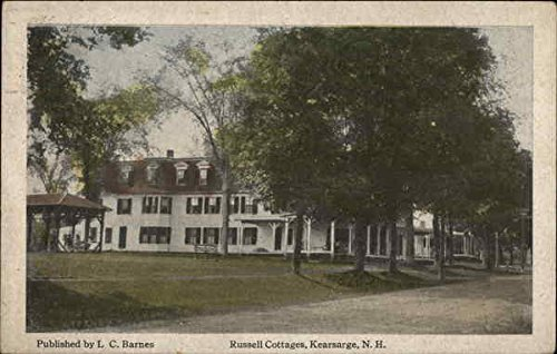 Russell Cottages Kearsarge, New Hampshire Original Vintage Postcard (Russell Cottages)
