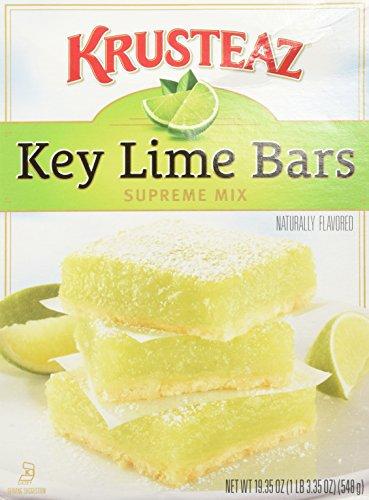 Krusteaz Key Lime Bars Supreme Mix, 19.35 Oz (Pack of 2)