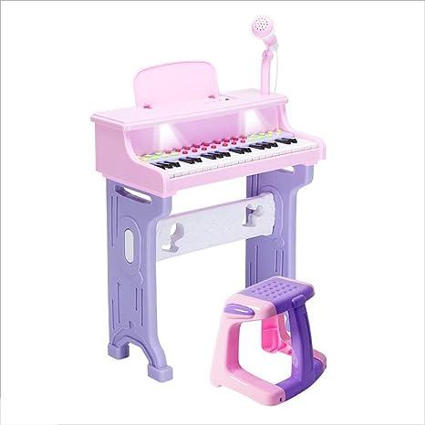 Niños niñas Piano Juguetes niñas Teclado Principiantes 1-2-3-6 años de