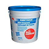 U S GYPSUM 380060 Sheetrock, Gallon Pail, 12 Lb, Dust Control, Lightweight, All Purpose Joint Compound