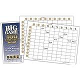 Big Game 100 Squares Pool Cards